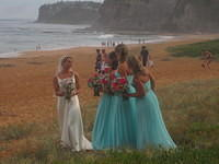 Beautiful bride in beautiful setting - Bilgola Beach, Sydney